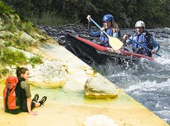 Combo – Canyoning & Rafting